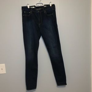 Gap brand authentic true skinny jeans